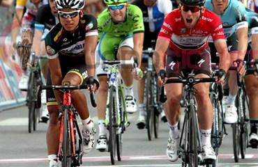 Ávila y Cavendish en el pasado Giro de Italia