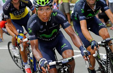 Nairo Quintana en el pasado Tour de Francia