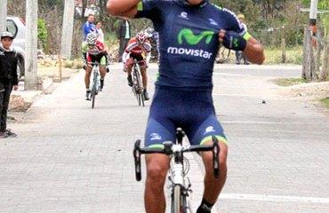 Brayan Ramírez se quedó con el triunfo en la competencia cundinamarquesa