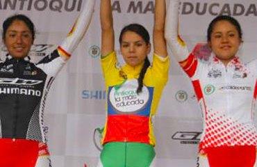 Jessenia Meneses dominó de principio a fin la carrera en las damitas