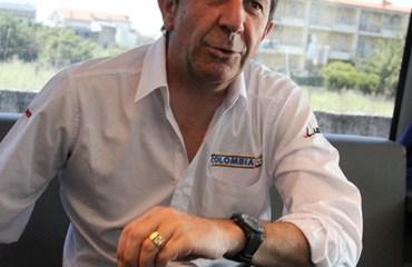 Corti empezó su tercera temporada al frente del Team Colombia