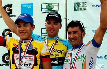 Félix Cárdenas y su primer podio isleño