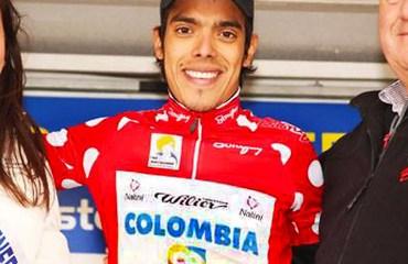 Jarlinson Pantano es el líder en la clasificación de la montaña
