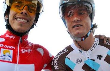 Jarlinson Pantano y Carlos Betancur en Francia