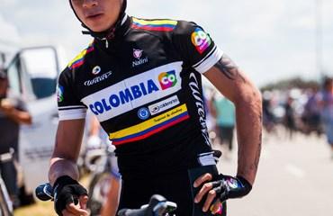 Juan P. Valencia protagonista de la primera etapa en Francia