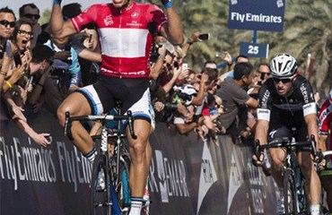 Kittel ganó la última jornada del Tour de Dubái