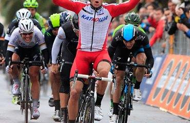 Kristoff es el nuevo campeón de la tradicional prueba