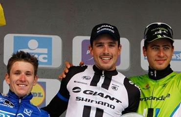 Degenkolb encabezó el podio en Bélgica