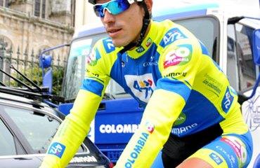 Juan P. Villegas es el primer líder de la Vuelta a México 2014