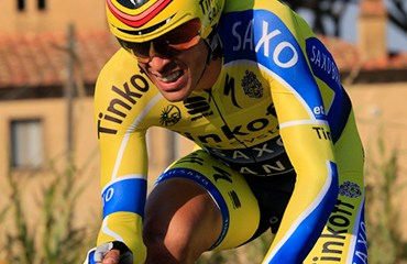 Contador fue segundo en la CRI final y alcanzó el título de la ronda vasca