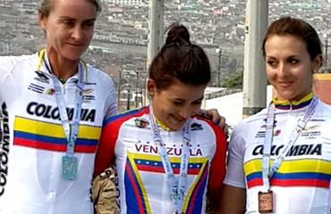María Luisa Calle y Diana Carolina Peñuela por Colombia en México
