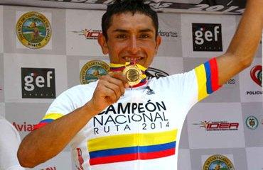 'Miguelito' Rubiano, Campeón Nacional de Ruta 2014
