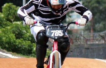 Miguel Calixto en acción