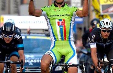 Sagan se sigue preparando para el Tour de Flandes