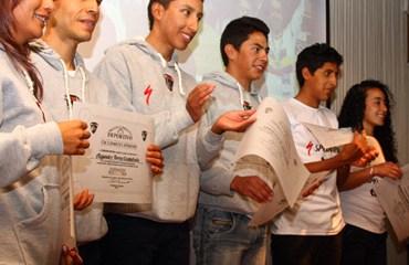 El Specialized-Tugó celebró en Bogotá su gran actuación en el pasado Panamericano de MTB