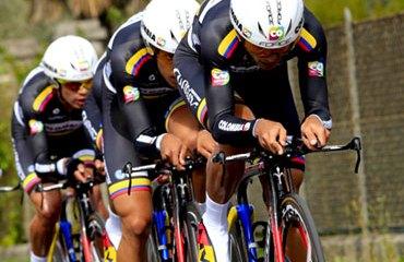 El Team Colombia cumplió una buena CRE en el Trentino