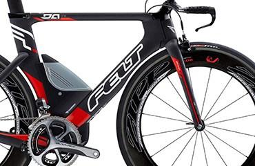 Felt puso en el mercado internacional espectaculares modelos de bicicletas de CRI