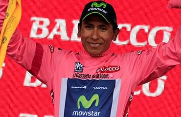 Quintana y el Movistar Team vivieron un día de transición en el Giro