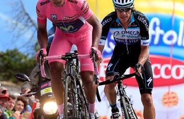 Quintana y Urán, demostraron ser los corredores más completos del Giro 2014