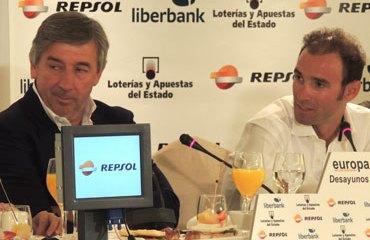 Eusebio Unzué y Alejandro Valverde