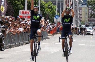 Izaguirre y Valverde, encabezaron el podio de Ruta en España