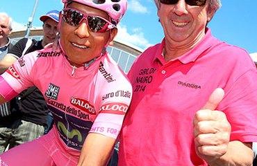 Quintana y Unzué, pareja ganadora en el Giro 2014