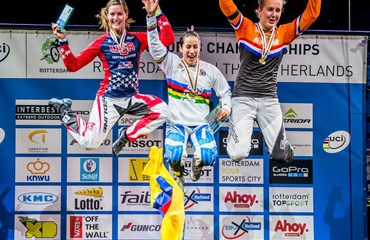 Mariana Pajón campeona mundial de BMX 2014 en Rotterdam
