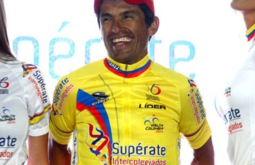 El tercer puesto en la CRI, le dio el liderato a Fernando Camargo.