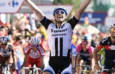 John Degenkolb ajustó su segundo triunfo en línea en la Ronda Ibérica.