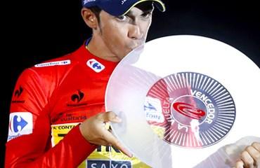 Tres participaciones, tres títulos para Alberto Contador en la Ronda Ibérica.