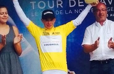 Por dos temporadas firmó Miguel ÁgelLópez con el equipo ruso del Tour Mundial.