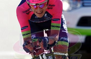 Anacona se mantuvo dentro del Top 5 general tras la crono que abrió la 2da semana de Vuelta a España