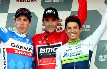 Este fue el primer podio en una prueba del Tour Mundial para Chaves.
