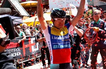 El ciclomontañista boyacense logró la semana pasada dos Top 10 en Francia.