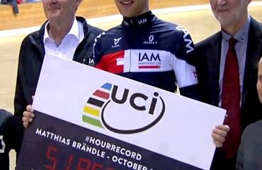 El austriaco Brändle superó la marca en 735 metros.