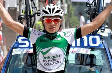 Hernández, vencedor del tramo de Bolívar a Anzá.