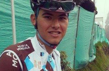 Estrada, nuevo colombiano de la élite ciclística.