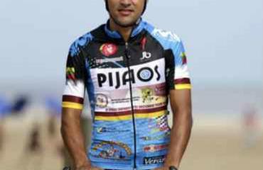 Alejandro Serna con cara de ser líder del equipo 'pijao'.
