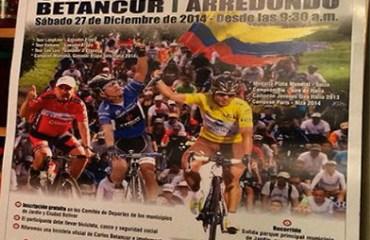 Así se promociona en el sureste antioqueño el ciclopaseo del 27 de diciembre entre Jardín y Ciudad Bolívar