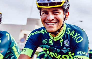 Beltrán trabaja con el equipo ruso en isla Gran Canaria.