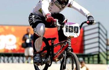 Mariana Pajón lleva nueve triunfos de forma seguida.