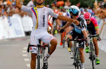 Fernando Gaviria, ganador dos etapas del Tour de San Luis