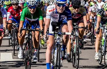 Hannah Barnes gana la priemra etapa del Tour de San Luis y comanda la general