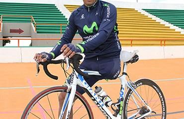 El Campeón Mundial de Ruta en su categoría recibió el apoyo de la multinacional Telefonica para su temporada 2015