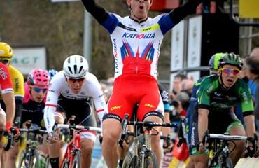 Alexander Kristoff se impuso en etapa de la París-Niza (Foto:ParisNice Press)