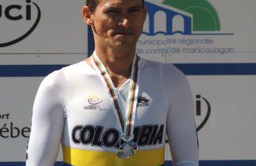 El dos veces Campeón Mundial de Ruta, Alvaro Galvis, encabeza la Selección para la cita mundial de Holanda