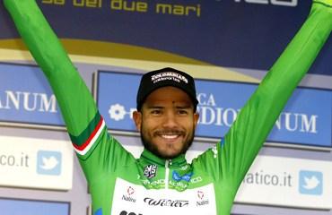 Carlos Julian Quintero ratificó el título de campeón de la montaña en la Tirreno-Adriático
