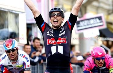 John-Degenkolb fue el vencedor de la Milán-San Remo este domingo