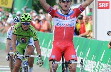 Alexander Kristoff ganó segunda etapa de los tres días de La Panne