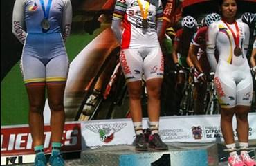La bogotana Camila Valbuena se colgó la dorada en la CRI (Foto©TwitterFCC)